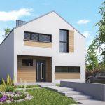 00_dom jednorodzinny 85m2 powierzchnia użytkowa skośny 1