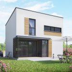 dom jednorodzinny 85m2 powierzchnia użytkowa płaski 2
